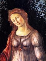 Sandro Botticelli. Spring (Primavera). Detail: Venus