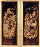 Рогир ван дер Вейден. Триптих Сфорца (в закрытом виде)