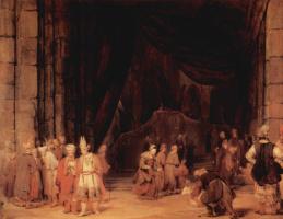 Арт Йоханс де Гелдер. Вход в храм