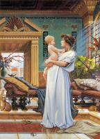 Давид Черри. Материнство