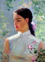 Anastasia Arsenova. Princess in the garden