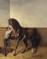 Альфред Дедрё. Выезд на прогулку. 1855