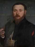 Portrait of a Nobleman with a Falcon