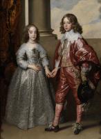 Антонис ван Дейк. Портрет Вильгельма Оранского и его невесты Марии Стюарт
