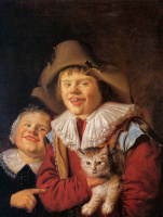 Ян Минсе Молинар. Ребенок и кот