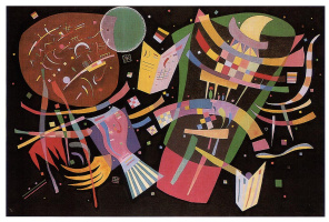 Wassily Kandinsky. Composition 10
