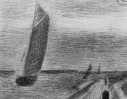 Georges Seurat. A Small Fort Philippe