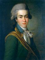 Дмитрий Григорьевич Левицкий. Портрет писателя князя И.М. Долгорукова