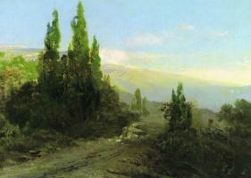 Фёдор Александрович Васильев. Вечер в Крыму