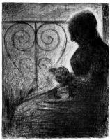 Жорж Сёра. У балконной решетки
