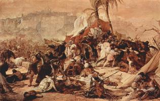 Франческо Айец. Седьмой крестовый поход на Иерусалим