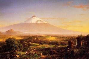 Томас Коул. Гора Этна
