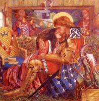Данте Габриэль Россетти. Свадьба святого Георгия и принцессы Сабра