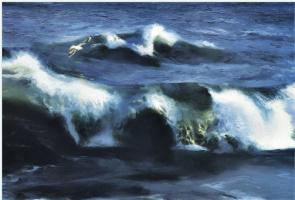 Unknown artist. The wind