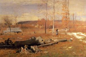 George Innes. Winter morning Montclair