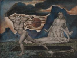 Уильям Блейк. Адам и Ева находят тело Авеля