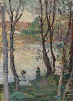 Анри Лебаск. По реке