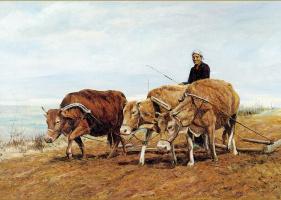 Цзян Хуэй. Фермерская земля