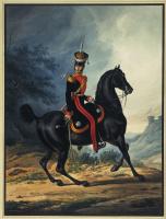 Александр Иванович Зауервейд. Штаб-офицер лейб-гвардии Драгунского полка
