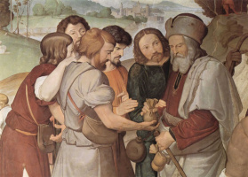 Johann Friedrich Overbeck. The brothers sell Joseph