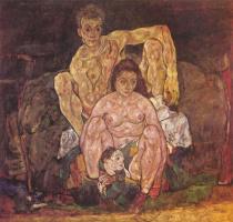 Egon Schiele. Family
