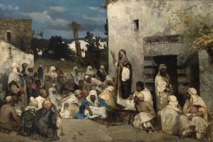 Wilhelm Kotarbinsky. The sermon at Capernaum