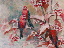 Таня Василенко. Bullfinches