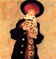Эгон Шиле. Женщина в черной шляпе