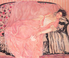 Фридрих Карл Фриске. Спящая женщина