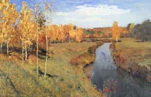 Исаак Ильич Левитан. Золотая осень