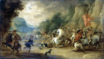 Ханс III Момпер Иос де Йорданс. Обращение Савла