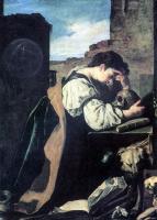 Доменико Фетти. Кающаяся Магдалина