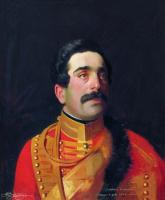 Сергей Константинович Зарянко. Портрет князя Семена Давыдовича Абамелека. 1852