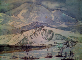 Maximilian Alexandrovich Voloshin. The hills are made of marble and mountains of glass