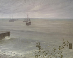 James Abbot McNeill Whistler. Symphony in grey and green: the Ocean