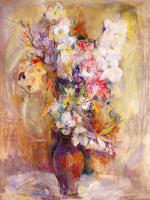 Уильям Мейерович. Цветы в вазе