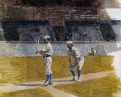 Томас Икинс. Тренировка бейсболистов