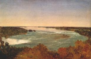 Джон Фредерик Кенсетт. Ниагарский водопад и пороги