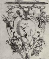 Франческо Бризио. Щит с гербом кардинала Сампьери