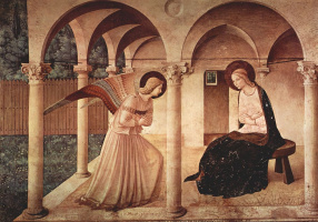 Фра Беато Анджелико. The Annunciation