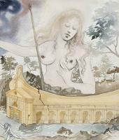 Salvador Dali 1904 - 1989 Spain. Leucotea. Around 1970