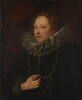 Антонис ван Дейк. Портрет женщины