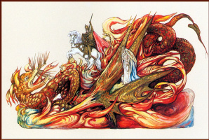 Анри Шиндлер. Святой Георгий и дракон
