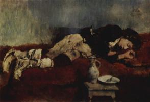 Вильгельм Мария Хубертус Лайбль. Спящий маленький савояр
