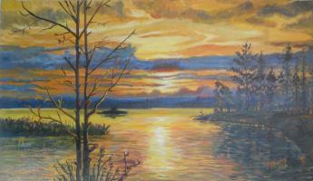 Grigory Krepachev. Sunset