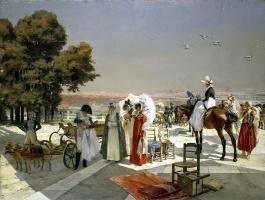 Франсуа Фламенг. Прием в Компьене