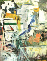 Willem de Kuning. Woman. Fragment