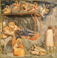 Джотто ди Бондоне. Рождение Иисуса