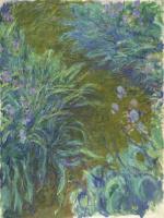 Claude Monet. The path in the iris