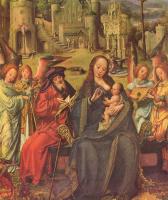 Ян Госсарт. Святое семейство